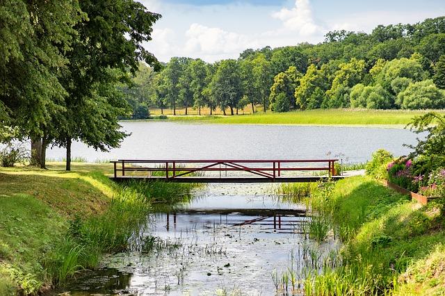 Un bello paisaje en Suecia