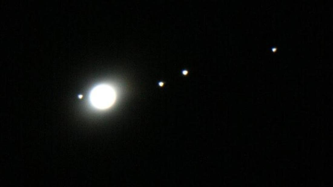 Júpiter estará tan cerca de la Tierra que sus lunas será visibles, incluso con binoculares