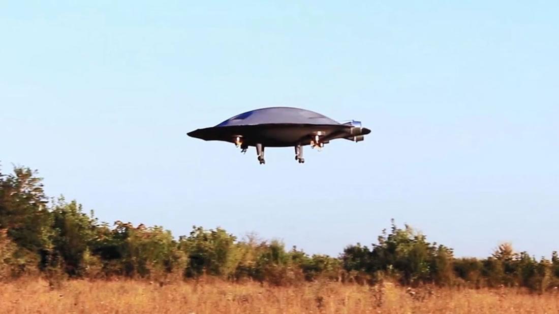 Científicos construyen un platillo volador que vuela de forma impresionante