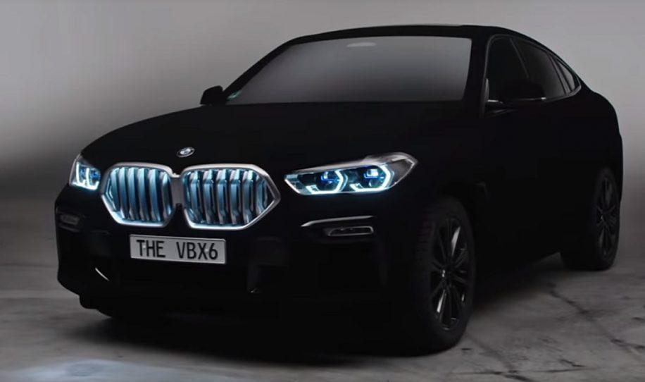 BMW presentó el auto más negro del mundo que absorbe la luz