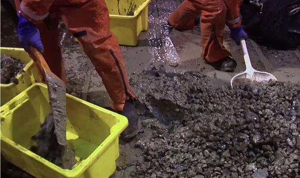 Sacaron 12 cubetas de lodo del fondo del océano