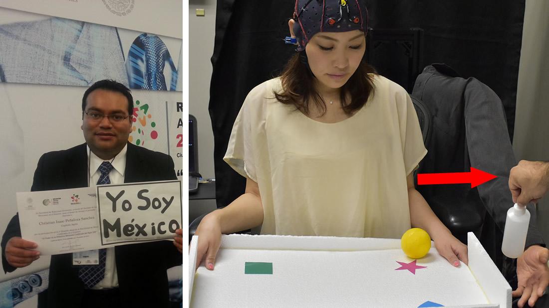 Científico mexicano crea un brazo robótico controlado por el cerebro