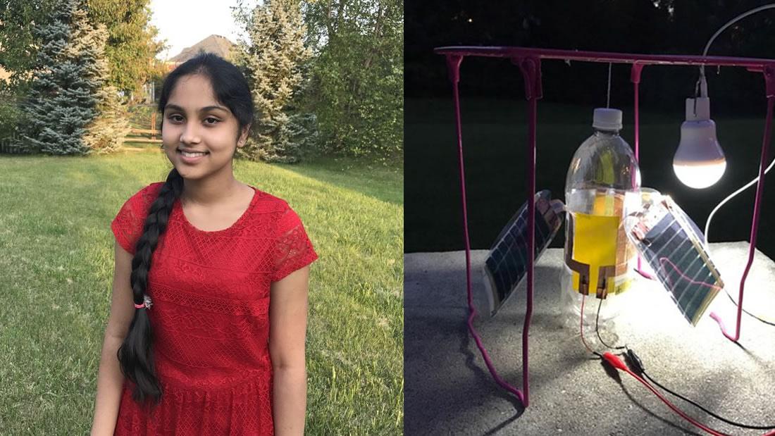 Joven de 16 años crea dispositivo para generar energía limpia