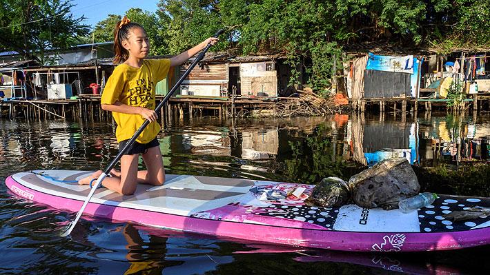Lilly, la Greta Thunberg de Tailandia, que emprende una guerra contra el plástico