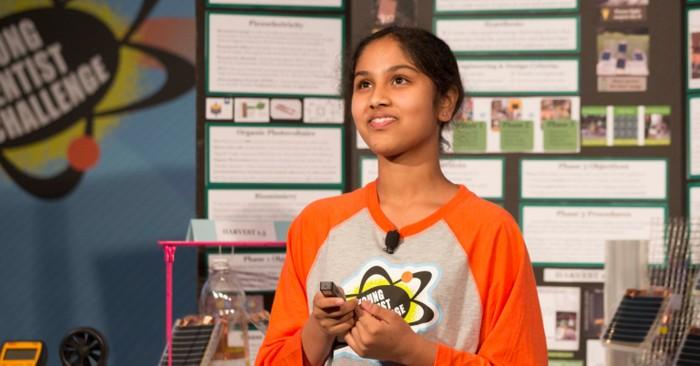 Maanasa Mendu, una joven estadounidense que tuvo la idea de crear un dispositivo que permita resolver un problema en India, donde vive parte de su familia