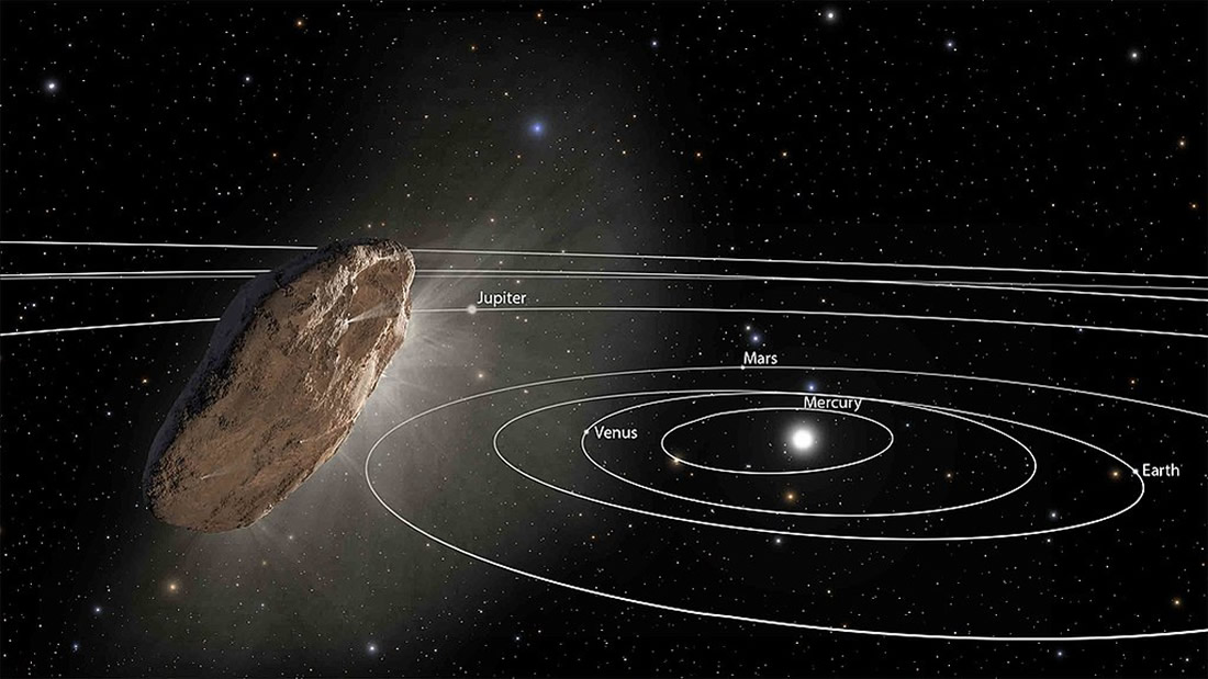 Un misterioso objeto del espacio interestelar ha entrado en nuestro sistema solar
