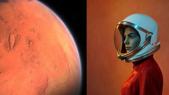 La astronauta más joven considera trasladarse permanentemente a Marte