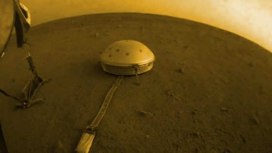 Extraños sonidos son captados en Marte y puedes escucharlos aquí