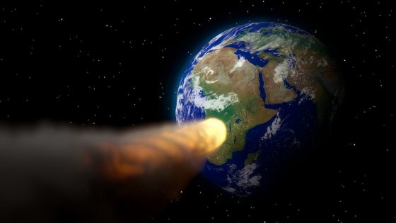 La Tierra sufrió un «impacto cósmico» hace 12.800 años, revela elemento químico