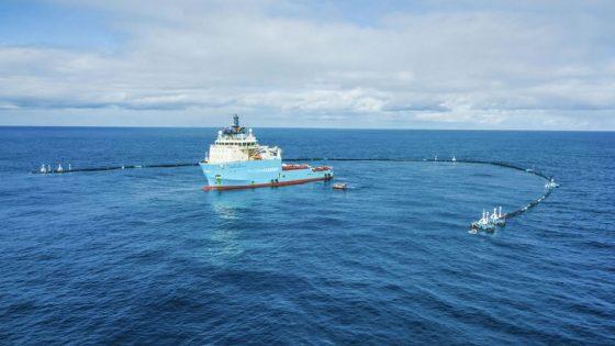 Ocean Cleanup: dispositivo de limpieza recolecta plástico del océano por primera vez
