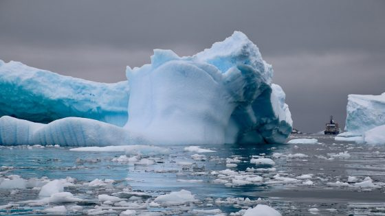 Un nuevo iceberg gigantesco podría desprenderse de la Antártida
