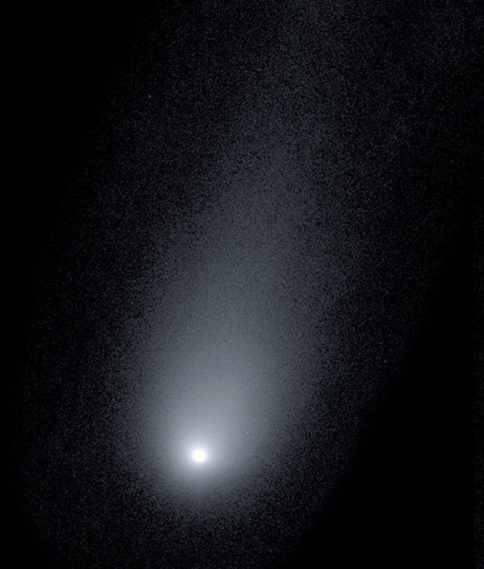 Cometa interestelar 2i/Borisov. Crédito: Pieter van Dokkum, Cheng-Han Hsieh, Shany Danieli, Gregory Laughlin
