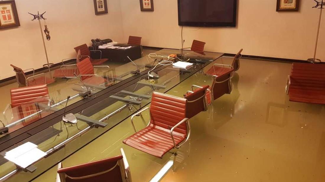 Consejo de Venecia se inunda luego de rechazar medidas contra el cambio climático
