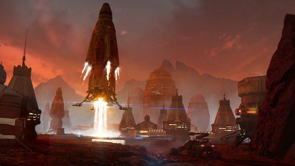 Elon Musk: «puedo construir una ciudad marciana con 1.000 naves espaciales»