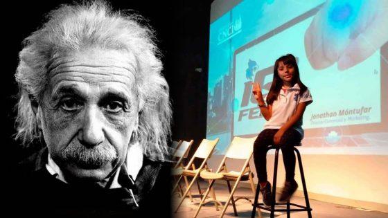 La niña genio de México que supera en IQ a Einstein y que quiere ser astrofísica