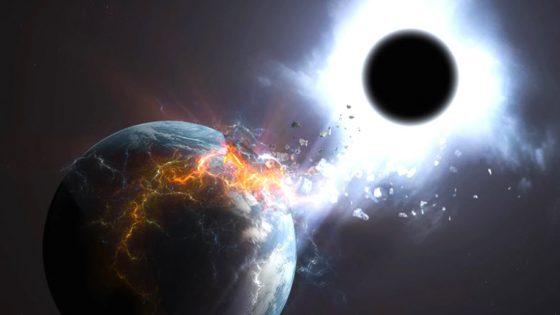 ¿Que ocurriría si la Tierra choca con un agujero negro?