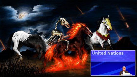 Secretario general de la ONU: «cuatro 'Jinetes del Apocalipsis' amenazan al mundo»