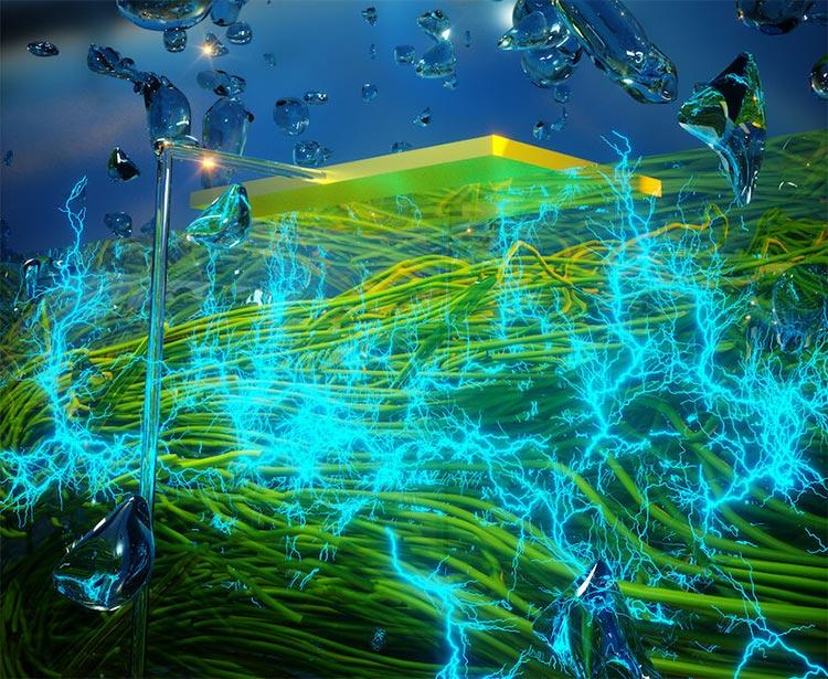 Científicos construyen dispositivo que genera electricidad «a partir del aire»