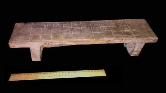 Tablero de juego antiguo podría estar vinculado al Libro Egipcio de los Muertos