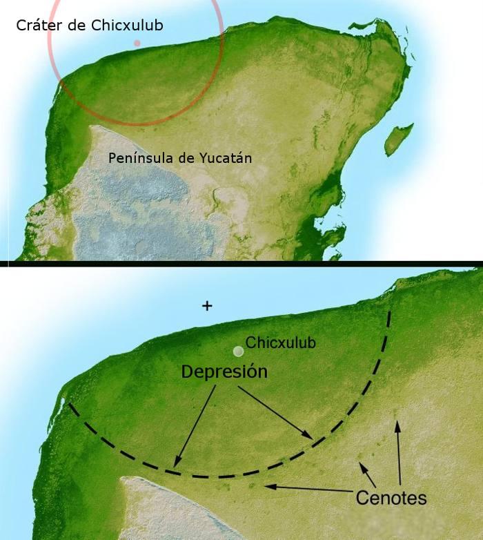 Asteroide que aniquiló a dinosaurios creó un enorme sistema hidrotermal en México