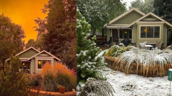Colorado (EE.UU,) pasa de una ola de calor a una tormenta de nieve en solo dos días