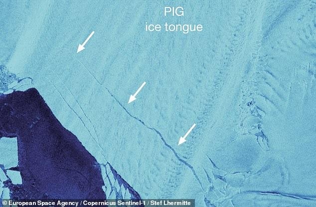 Dos glaciares antárticos del tamaño de Noruega están fracturándose más rápido de lo pensado