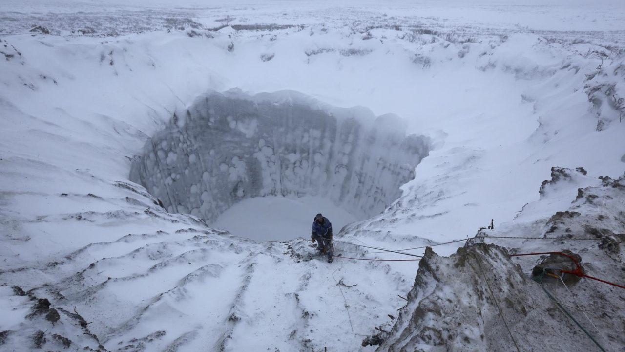 Potencial devastador del derretimiento del permafrost del Ártico, revelado en nueva investigación